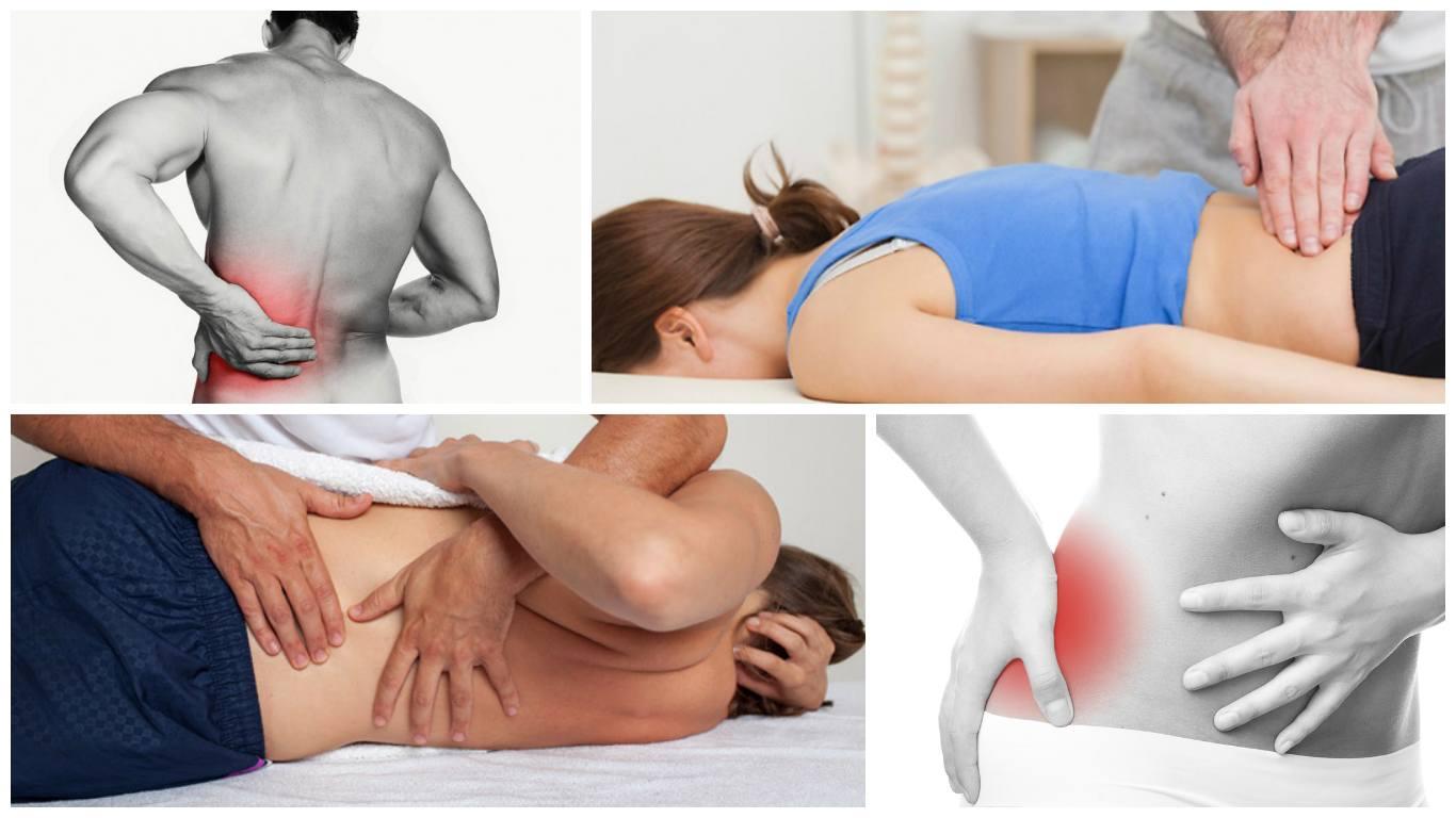симптомы заболевания спины