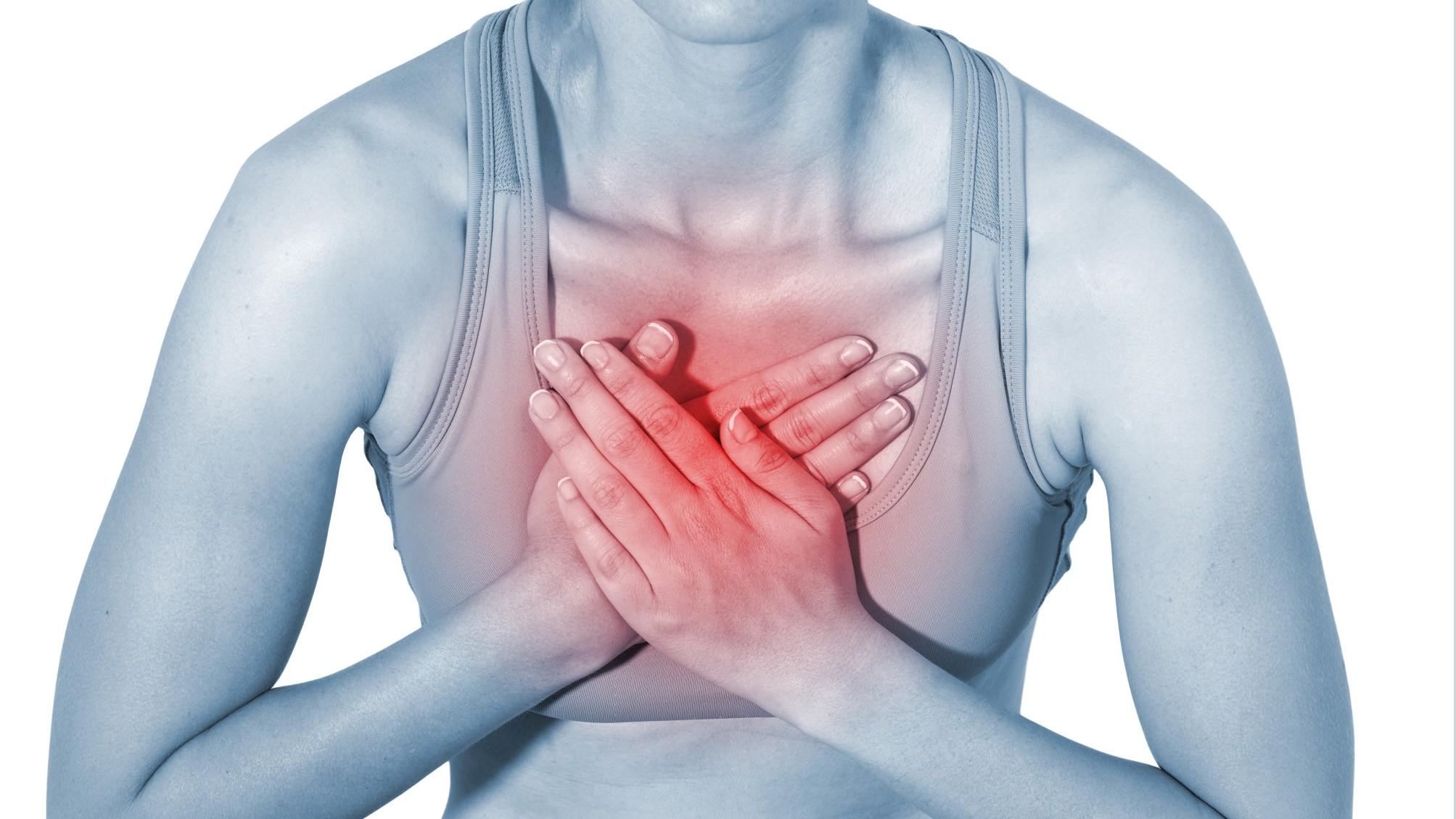 боль между лопатками рис3 - инфаркт