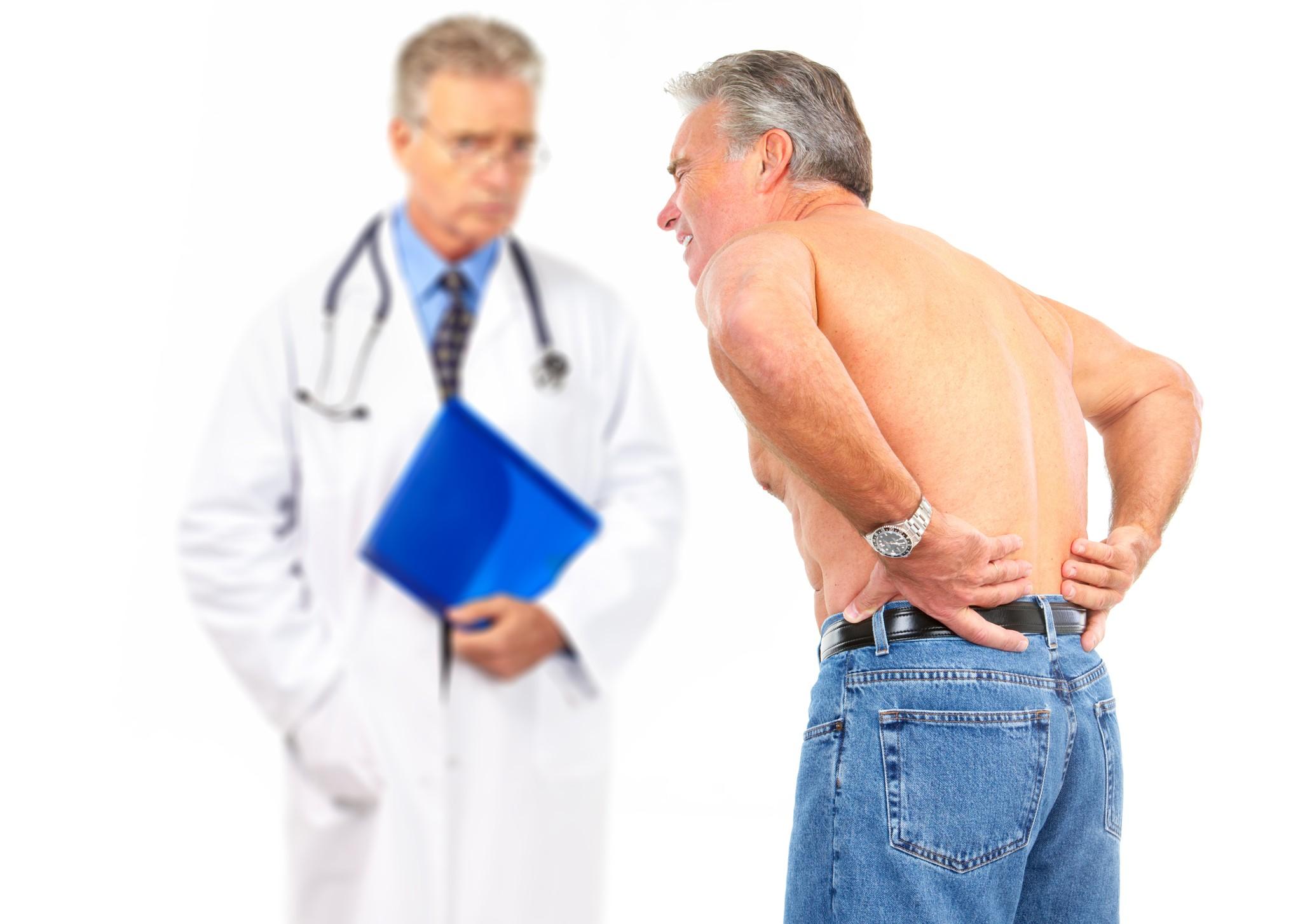 рис 1 доктор и пациент - радикулит