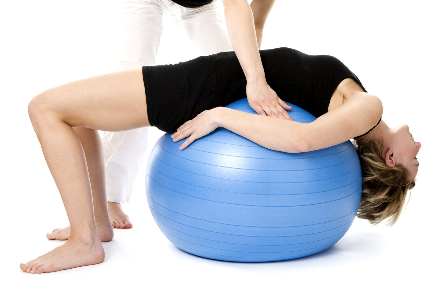 рис8 пояснично-крестцовая грыжа - упражнение на шаре