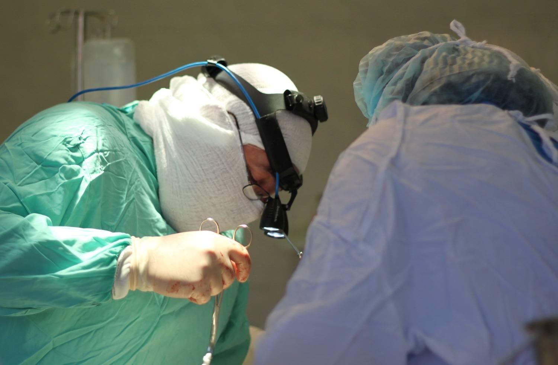 операционное вмешательство при защемлении шеи