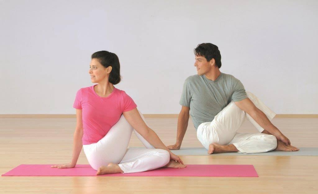 статические упражнения для растяжки