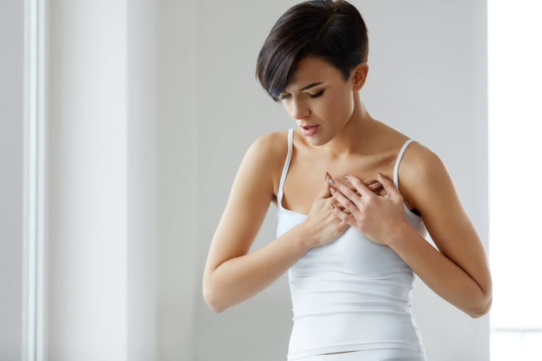 признаки грудного остеохондроза у женщин