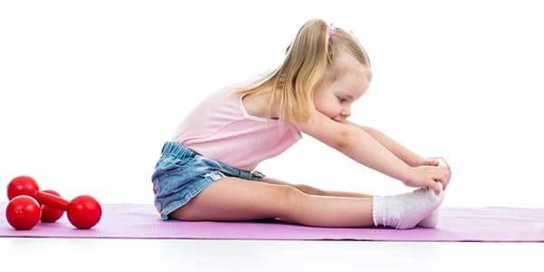 Лечебная физкультура для малышей