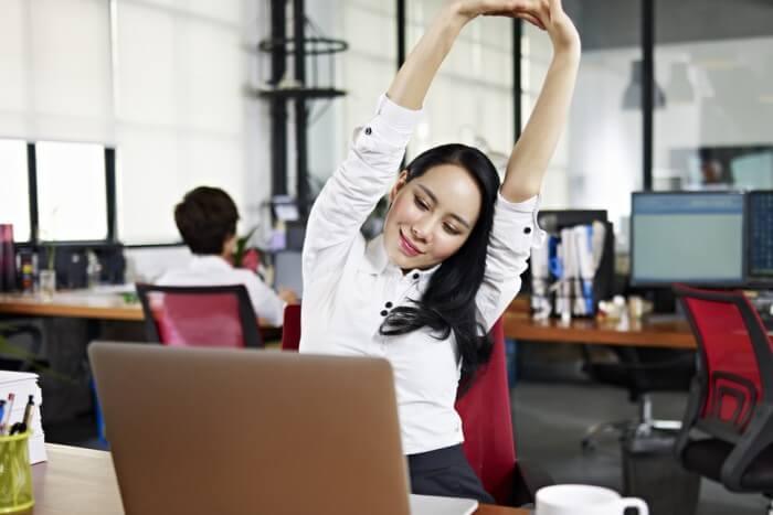 правила выполнения упражнений на работе