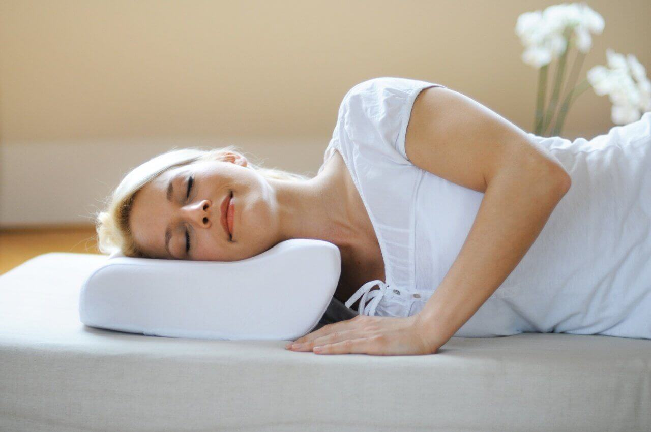 позы для сна при остеохондрозе