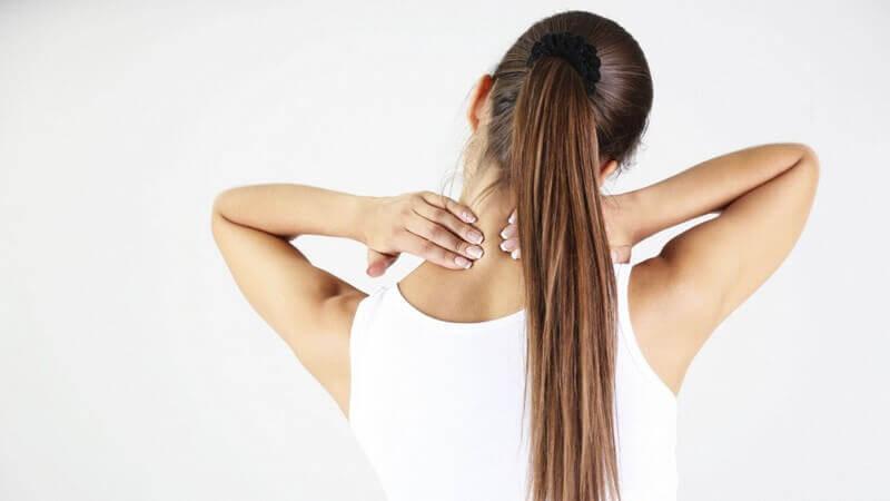сильная боль в шее при остеохондрозе